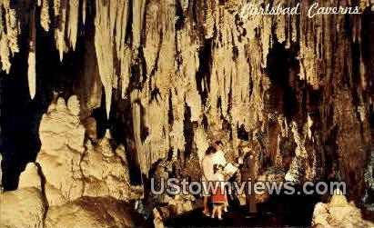 King's Palace - Carlsbad Caverns National Park, New Mexico NM Postcard