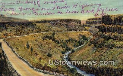 Taos Gorge - Raton, New Mexico NM Postcard