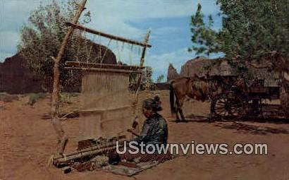 Navajo Rug Weavers - Misc, New Mexico NM Postcard