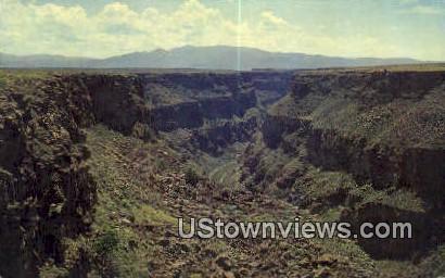 Rio Grand Gorge - Taos, New Mexico NM Postcard