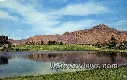 Golf Course - Socorro, New Mexico NM Postcard