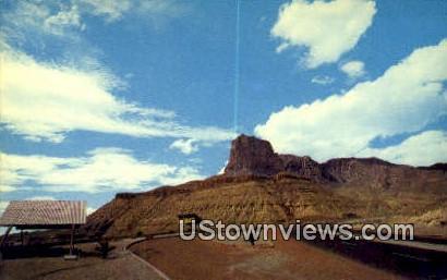 El Capitan & Guadalupe Peak - El Paso, New Mexico NM Postcard