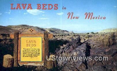 Lava Beds - Grants, New Mexico NM Postcard