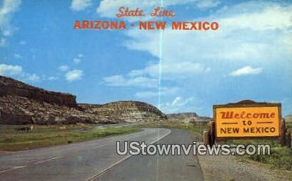 Highway 66 - Misc, New Mexico NM Postcard