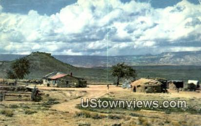 Navajo Indian Homes - Misc, New Mexico NM Postcard