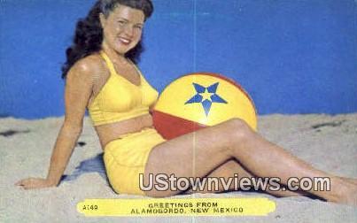 Alamogordo, New Mexico     ;     Alamogordo, NM Postcard