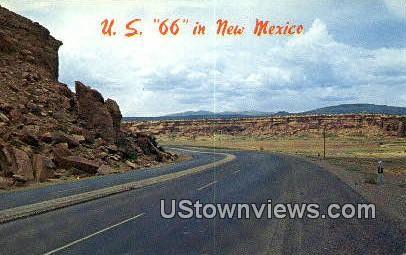 US 66 - Grants, New Mexico NM Postcard