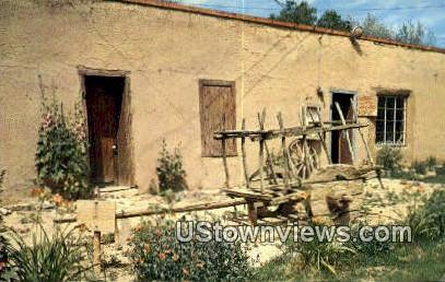 Old Ox Cart - Taos, New Mexico NM Postcard