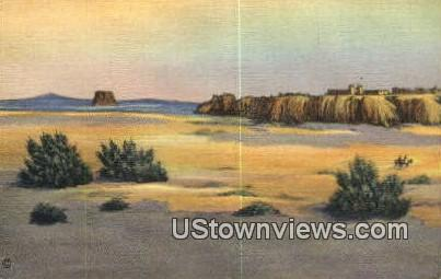 Acoma - Mesa Encantada, New Mexico NM Postcard