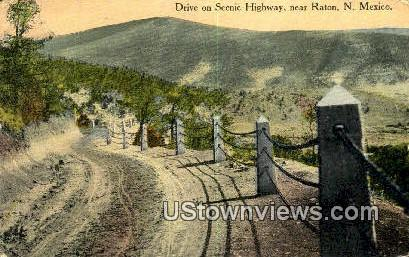 Raton, New Mexico     ;     Raton, NM Postcard