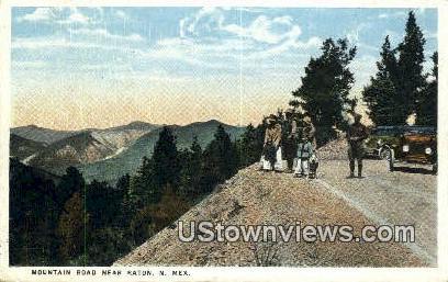Raton, NM     ;     Raton, New Mexico Postcard