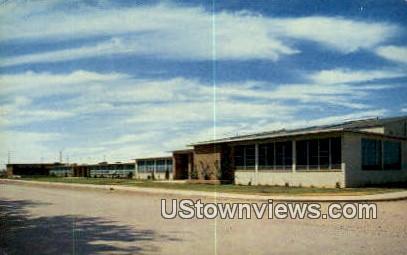 Alamogordo High School - New Mexico NM Postcard