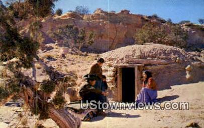 Navajo Family - Misc, New Mexico NM Postcard