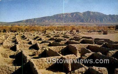 Coronado Ruins State Monument, New Mexico     ;     Coronado Ruins State Monument, NM Postcard