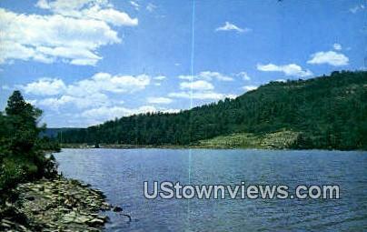 Lake Maloya - Raton, New Mexico NM Postcard