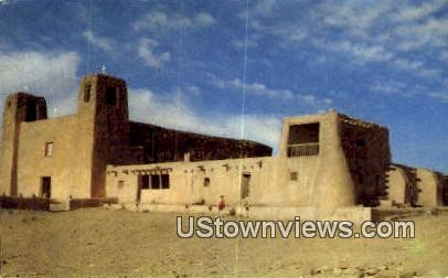 San Estavan Mission - Acoma, New Mexico NM Postcard