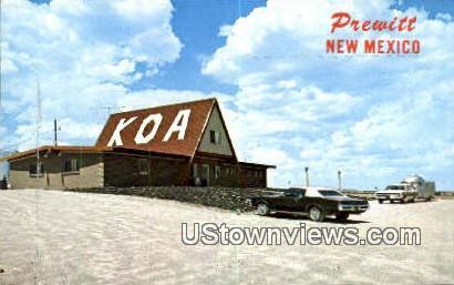 Koa Kampground - Prewitt, New Mexico NM Postcard