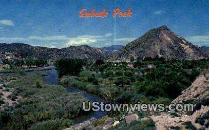 Embudo Peak - Taos, New Mexico NM Postcard
