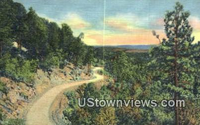 Mountain Drive - Misc, New Mexico NM Postcard