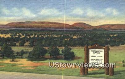 Continental Divide - Misc, New Mexico NM Postcard