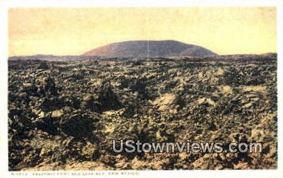 Volcanic Cone & Lava Bed - Grants, New Mexico NM Postcard