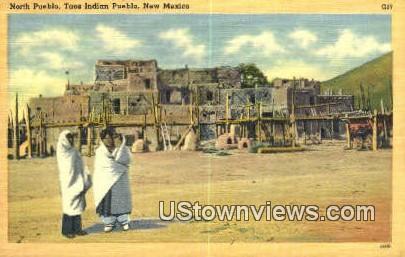 North Pueblo - Taos, New Mexico NM Postcard