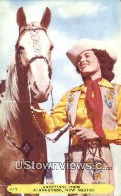 Alamogordo, NM     ;     Alamogordo, New Mexico Postcard