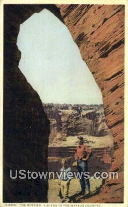 The Window - Misc, New Mexico NM Postcard