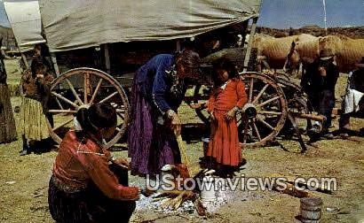 Navajo Encampment - Misc, New Mexico NM Postcard