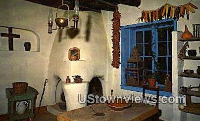 Kitchen of the Kit Carson Home - Taos, New Mexico NM Postcard