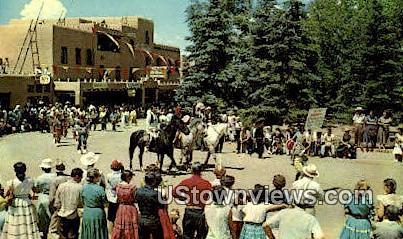 Fiesta Time - Taos, New Mexico NM Postcard