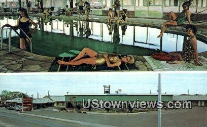 Holiday Motel - Lordsburg, New Mexico NM Postcard