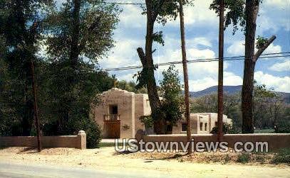 First Presbyterian Church - Taos, New Mexico NM Postcard