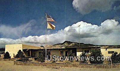Chost Ranch Museum - Abiquiu, New Mexico NM Postcard