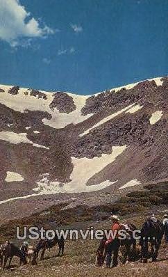Sangre de Cristo Mountains - Taos, New Mexico NM Postcard