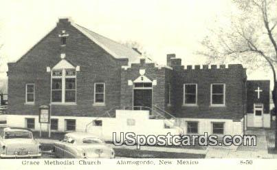 Grace Methodist Church - Alamogordo, New Mexico NM Postcard