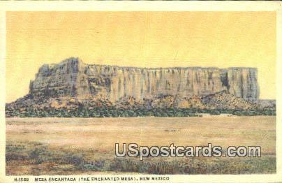 Mesa Encantada, New Mexico Postcard       ;       Mesa Encantada, NM