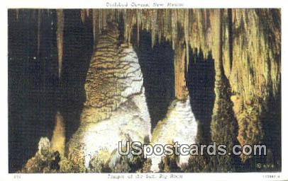 Temple of the Sun, Big Room - Carlsbad Caverns, New Mexico NM Postcard