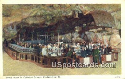 Lunch Room - Carlsbad Caverns, New Mexico NM Postcard