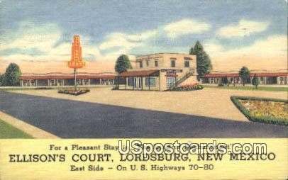 Ellison's Court - Lordsburg, New Mexico NM Postcard