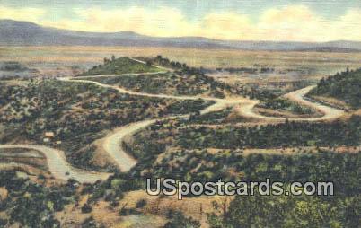 Raton Pass, Santa Fe Trail - New Mexico NM Postcard
