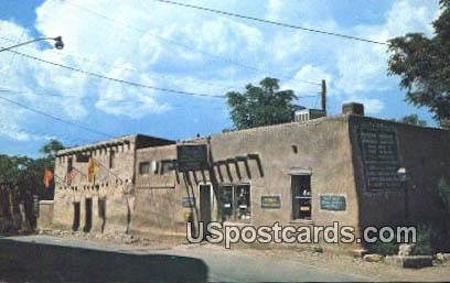 Oldest House in the US - San Miguel, New Mexico NM Postcard