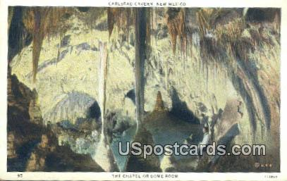 Chapel or Dome Room - Carlsbad Caverns, New Mexico NM Postcard