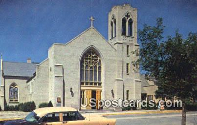 Immaculate Conception Church - Las Vegas, New Mexico NM Postcard