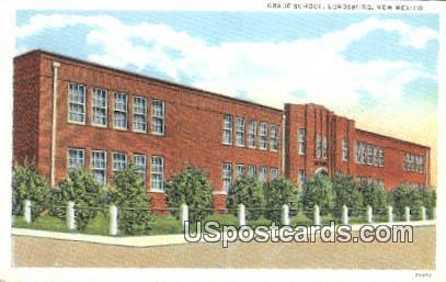 Grade School - Lordsburg, New Mexico NM Postcard