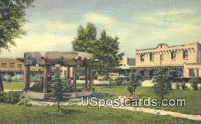 The Plaza - Taos, New Mexico NM Postcard
