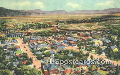 Goat Hill - Raton, New Mexico NM Postcard