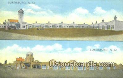 Camp Hidalgo & Hidalgo Court - Lordsburg, New Mexico NM Postcard