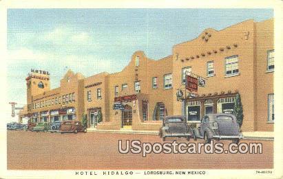Hotel Hidalgo - Lordsburg, New Mexico NM Postcard