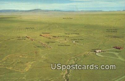 Post & Depot - Fort Union National Monument, New Mexico NM Postcard